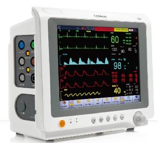 Monitor theo dõi bệnh nhân đa thông số với màn hình cảm ứng Led 10.4 inch