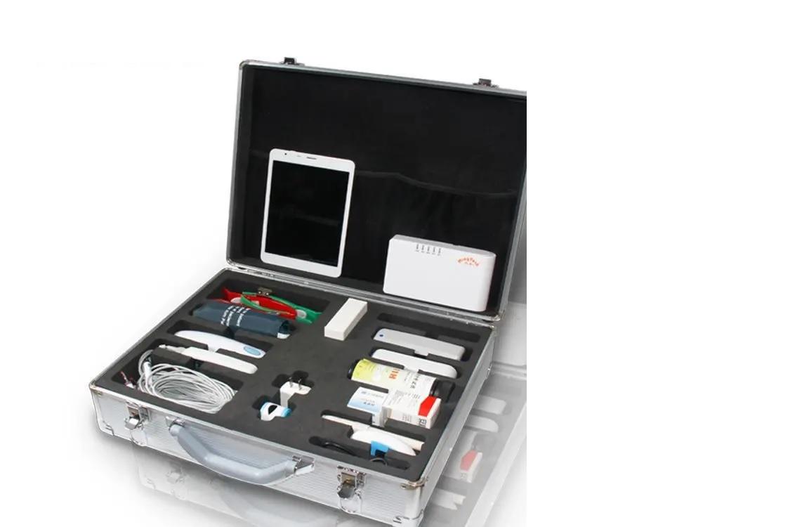 Hệ thống chẩn đoán tích hợp Bộ dụng cụ đo huyết áp + Điện tâm đồ + SPO2