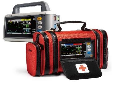 Monitor cấp cứu chuyên dụng dùng cho xe cứu thương