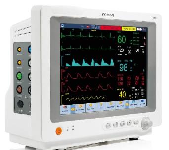 Monitor dành cho bệnh nhân chăm sóc đặc biệt với màn hình cảm ứng TFT 12.1 inch
