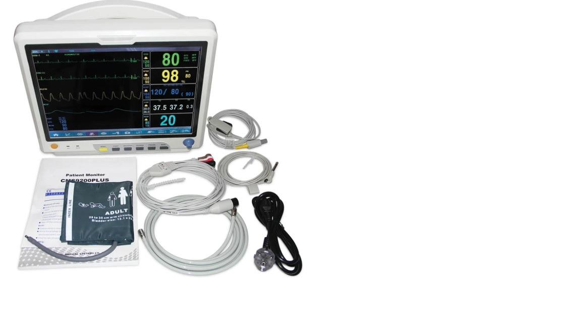 Máy theo dõi bệnh nhân đa thông số với màn hình cảm ứng màu 15inch TFT LCD
