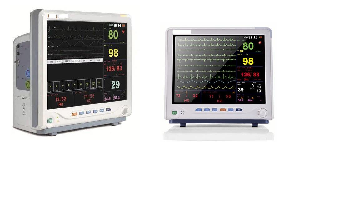 Monitor dành cho bệnh nhân chăm sóc đặc biệt với màn hình cảm ứng TFT 15 inch