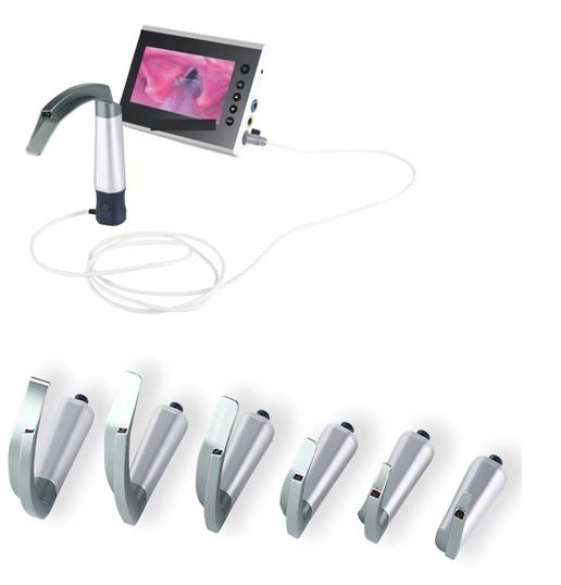 Bộ đặt nội khí quản có camera với màn hình 7inch (loại lưỡi tái sử dụng dùng cho người lớn; trẻ em và trẻ sơ sinh)