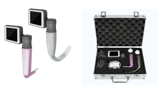 Bộ đặt nội khí quản có camera (loại lưỡi sử dụng một lần dùng cho người lớn; trẻ em và trẻ sơ sinh)