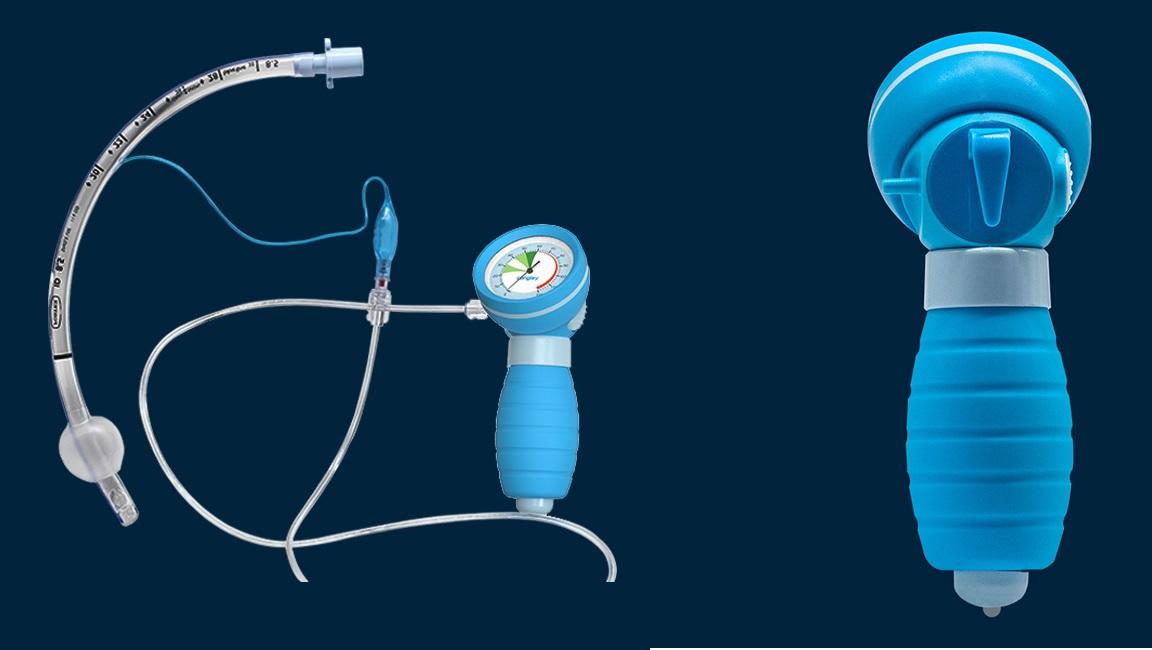 Đồng hồ đo áp lực bóng chèn nội khí quản (Đồng hồ đo áp suất vòng bít)