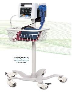 Máy đo huyết áp; SpO2 và nhiệt độ loại di động