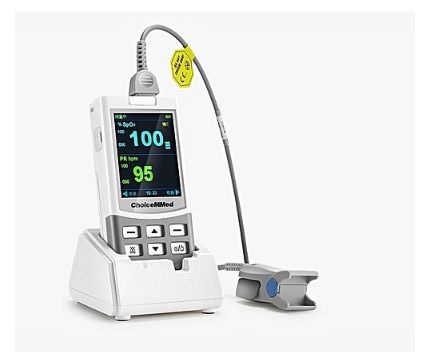 Máy đo độ bảo hoà Ôxy trong máu (Máy SpO2 loại cầm tay) dùng cho người lớn; trẻ em và trẻ sơ sinh