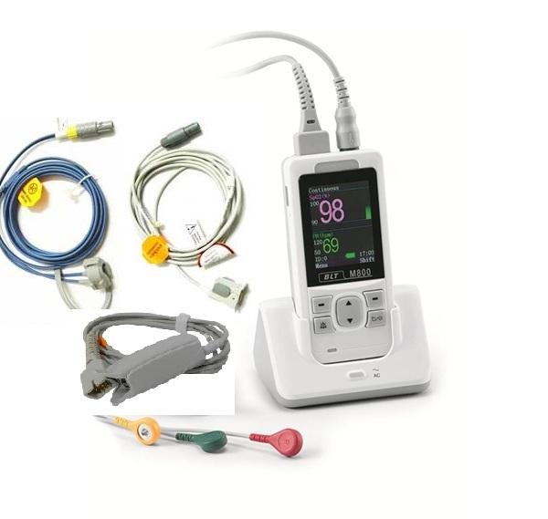Máy đo độ bảo hoà Ôxy trong máu (Máy SpO2 loại cầm tay) kiêm chức năng đo điện tim (ECG) cho người lớn; trẻ em và trẻ sơ sinh