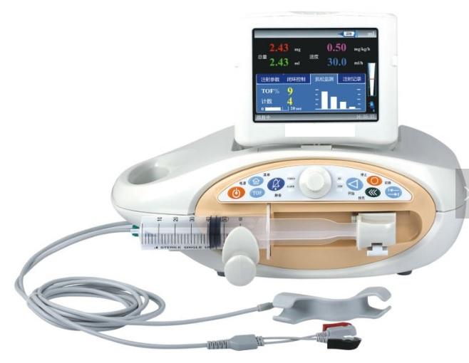 Hệ thống tiêm truyền cơ vòng kín dùng trong gây mê y tế