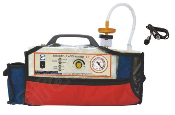 Máy hút dịch sử dụng Pin & điện loại 01 bình với công suất 14 lít/phút