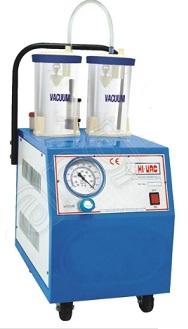 Máy hút dịch 02 bình loại bơm chân không với công suất 50 lít/phút