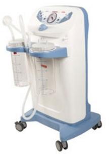 Máy hút dịch 02 bình dùng trong HSCC với dung tích 2000ml