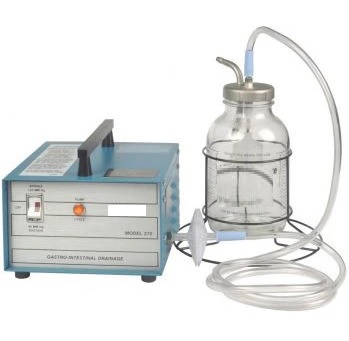 Máy rửa và hút dịch dạ dày tự động dùng trong phẫu thuật và hồi sức tích cực chống độc loại để bàn