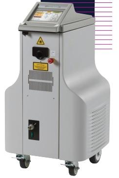 Máy tán sỏi niệu quản ngược dòng bằng YAG Laser và tán sỏi thận qua da (PCNL) với màn hình cảm ứng