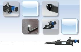 Ống soi mềm bàng quang có thể kết nối với đầu camera head của ống soi cứng