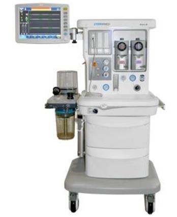 Máy gây mê giúp thở áp dụng cho người lớn, trẻ em và trẻ sơ sinh với màn hình cảm ứng 15inch (có chức năng thu hồi khí mê)