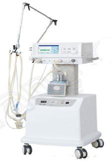 Máy thở CPAP kèm máy nén khí với thông gió bằng tay - CPAP with Manual Ventilation