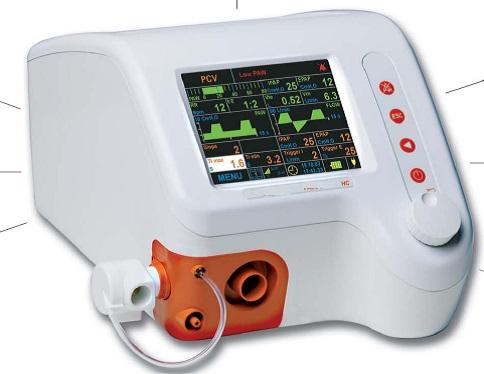 Máy thở dành cho trẻ em và trẻ sơ sinh.