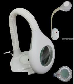 Đèn tiểu phẫu LED dạng để bàn có kính lúp dùng trong thẫm mỹ - Magnifying Lamp