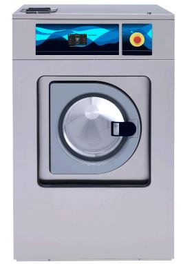 Máy giặt và máy vắt công nghiệp cao cấp loại tự động với công suất 39/35 Kg
