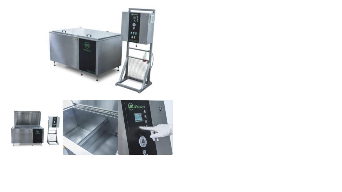 Máy rửa dụng cụ bằng sóng siêu âm với dung tích 250 lít