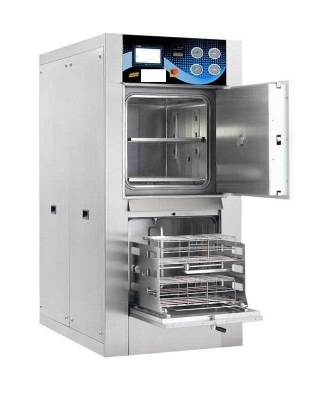 Máy rửa khử khuẩn và Máy tiệt trùng bằng hơi nước công suất 250 lít