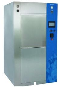 Máy hấp tiệt trùng hơi nước (hấp ướt) 02 cửa - loại cửa trượt dọc hoàn toàn tự động với công suất ≥ 300 lít