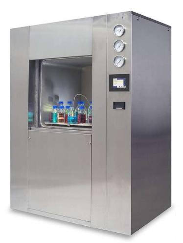 Máy hấp tiệt trùng hơi nước (hấp ướt) 02 cửa tự động với màn hình cảm ứng 5.7inch, thể tích từ 250 - 1.200 lít