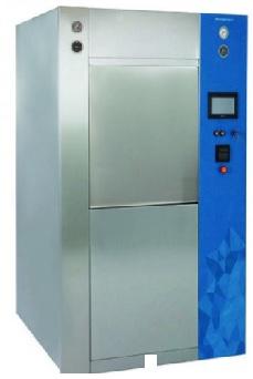 Máy hấp tiệt trùng hơi nước (hấp ướt) 02 cửa - loại cửa trượt dọc hoàn toàn tự động với công suất ≥ 422 lít