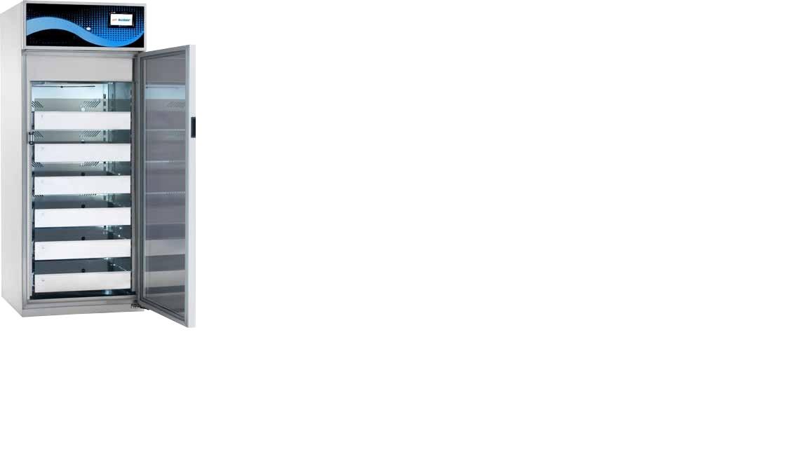 Tủ lạnh trữ mẫu với dung tích 350 lít