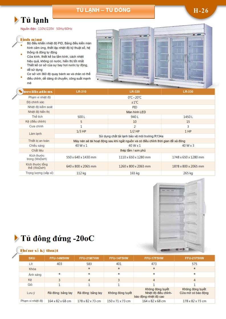 Tủ lạnh - Tủ đông