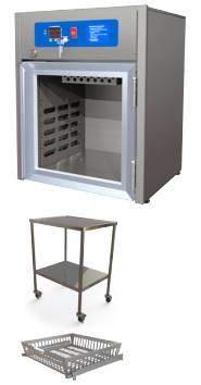 Tủ giữ ấm dịch truyền (chất lỏng) loại cửa kính trong suốt với công suất chứa 18 lít