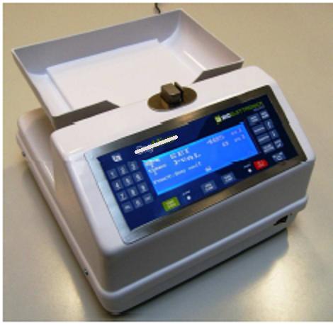 Máy lắc túi máu có cân trọng lượng sử dụng điện và Pin sạc