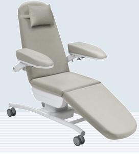 Ghế hiến máu cao cấp có bánh xe di chuyển