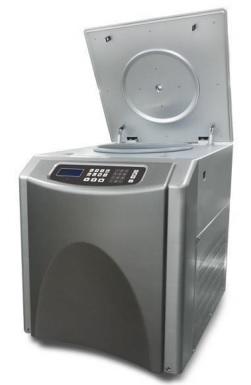 Máy ly tâm lạnh tốc độ cao 12.000 vòng loại để trên sàn nhà