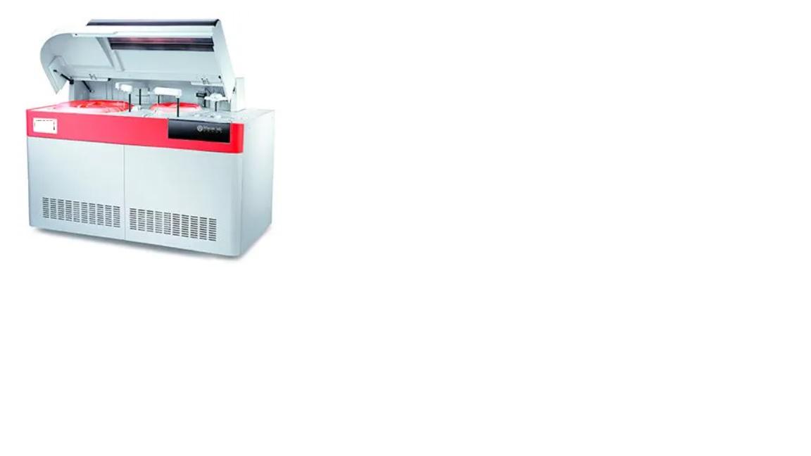 Máy phân tích sinh hóa tự động công suất 800 test/giờ và 1.200 test/giờ với ISE; 1.600 test/giờ đến 2.400 test/giờ với ISE