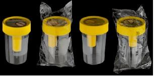 Hộp đựng nước tiểu có chức năng hút chân không loại vô trùng
