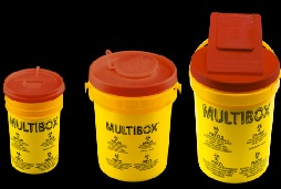 Hộp chứa an toàn cho kim bị ô nhiễm và chất thải bệnh viện