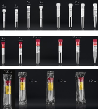 Ống nghiệm lấy mẫu Polystyrene có nắp loại tiệt trùng và không tiệt trùng