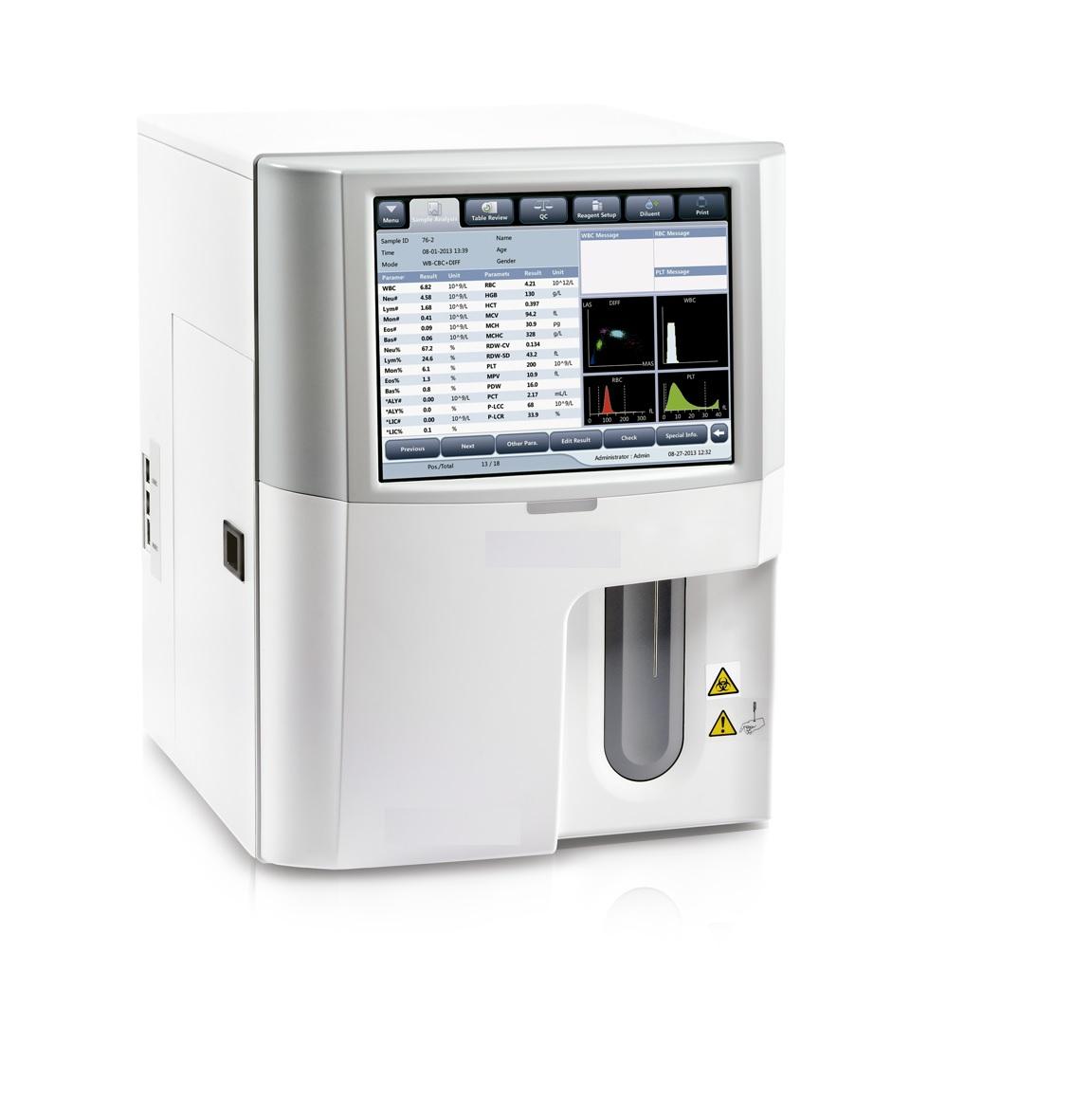 Máy phân tích huyết học 29 thông số với 5 thành phần bạch cầu