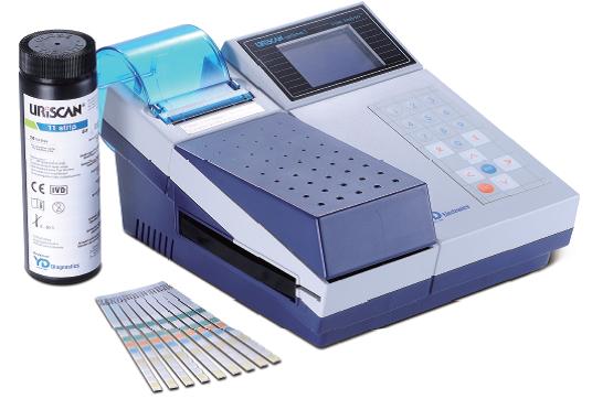 Máy phân tích nước tiểu bán tự động 12 thông số