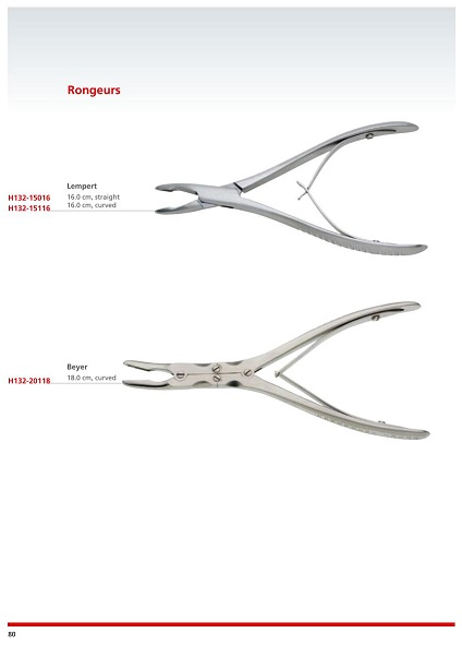 Rongeurs - Bone Cutting forceps - Miscellaneous