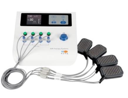 Máy trị liệu đa năng hồng ngoại để điều trị các bệnh về thần kinh cơ, bong gân, căng cơ, điều trị đau và viêm cơ bằng cách mát xa chân với bước sóng 890nm
