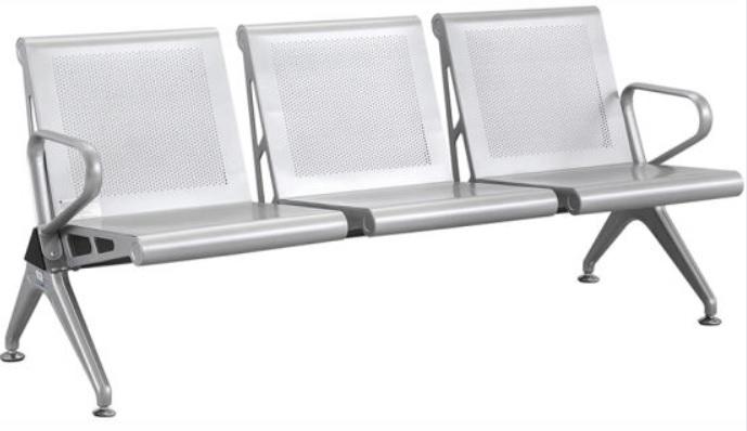 Băng ghế chờ dành cho bệnh nhân loại băng 03 ghế bằng sơn tĩnh điện