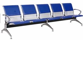Băng ghế chờ dành cho bệnh nhân loại băng 05 ghế bọc nệm bằng thép sơn tĩnh điện