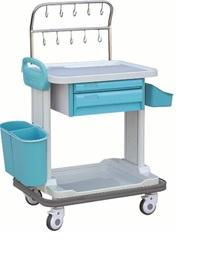 Xe đẩy y tế - Xe đẩy tiêm thuốc dùng trong cấp cứu; cấp phát thuốc; điều trị và tiêm truyền dịch đa năng