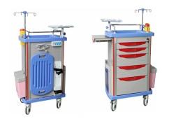 Xe tiêm thuốc - Xe đẩy tiêm thuốc cao cấp ABS dùng trong cấp cứu và cấp phát thuốc