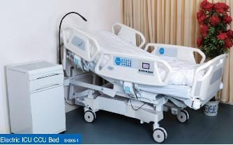 Giường điện đa năng dùng trong hồi sức cấp cứu (ICU; CCU) có tích hợp cân trọng lượng