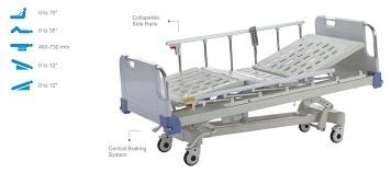 Giường hồi sức cấp cứu 5 chức năng điều khiển điện