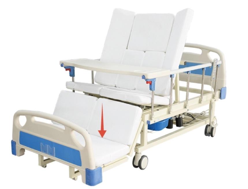 Giường bệnh nhân 05 chức năng điều khiển bằng điện cho người đột quỵ; tai biến